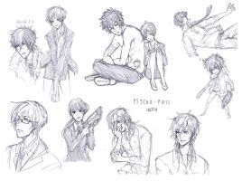 Psycho-Pass sketch by sawa-rint