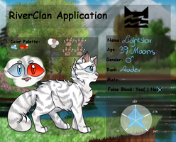 TFB| Lightstar| Male| RiverClan Leader by Himmelskerze