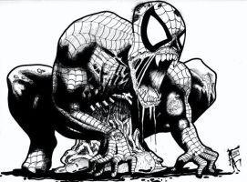 Zombie Spiderman by afac86