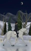 .:As A Feather On The Clyde:. - Icy Dressage Event by TLAFan2