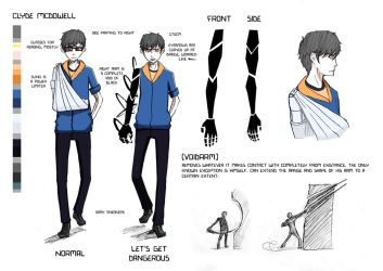 Clyde Mcdowell Reference Sheet by Jiisuri