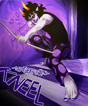 GAMZEE- Kneel by FlightyFelon
