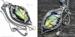 FHADERIALL NARYI - Silver and Labradorite by LUNARIEEN