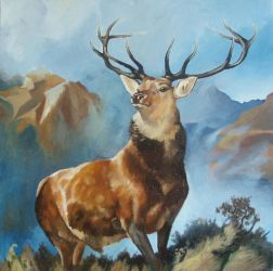 The Monarch of the Glen COPY by mincis773