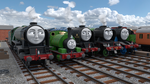 Percy and the Pacifics by TheChairmaster