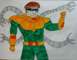 Doctor Octopus (Doc Ock) by JQroxks21