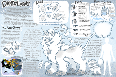 DandyLyons CLOSED Species Reference by AdorkableMarina