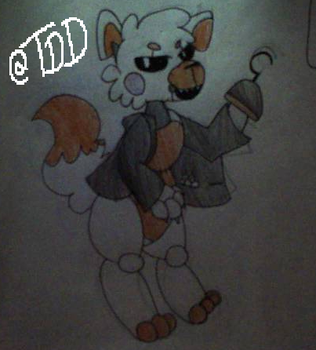 (FNAF world) Lolbit by Straw-Hat-Wizard