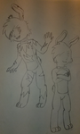 Five Nights at Freddy's 3 Concept Sketch Renewed by PKMNTrainerSpriterC