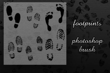 Footprint Brush by pantaeba