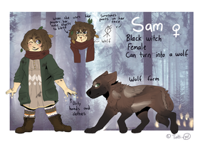Witchsona SAM - reference sheet by tinttiyo