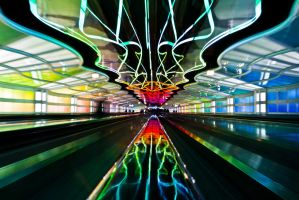Neon Airports by matthewfoxxphotos