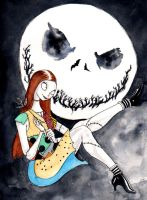 DND Paris : The nightmare before Christmas by emalterre