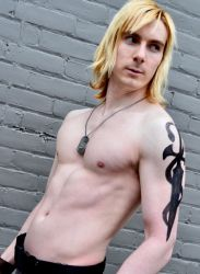 Liquid Snake Fan Service by Galactic-Reptile