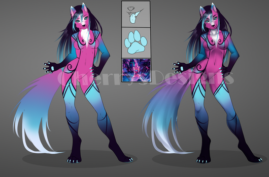 (closed) Anthro Auction Adopt - City Lights by CherrysDesigns