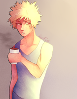 not a morning person by Keefoe