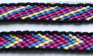 Candy Stripe and Chevron with Border by Panna-Kot