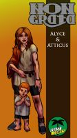 Alyce And Atticus by WolfMagnum