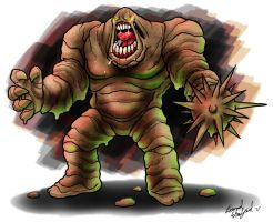 Clayface by BiggySchmalz