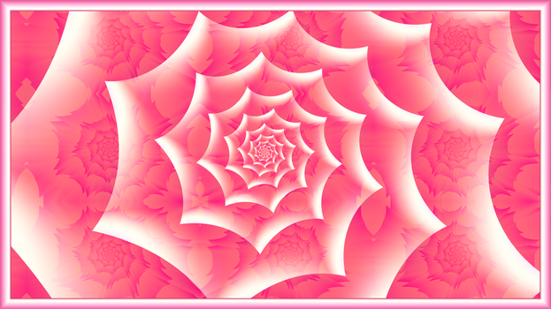 Pink Fractal Roses by BGai