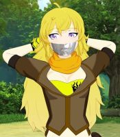 Yang Tape gagged by lakithundurus