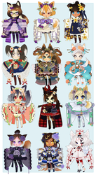 OPEN: YEAR OF THE DOG CYOP ADOPTS updated prices by minnoux