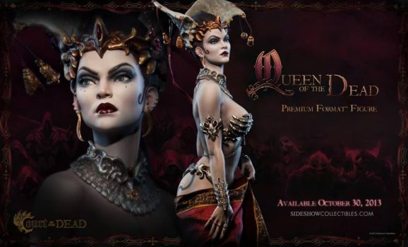 Queen of the Dead pre-order by MarkNewman