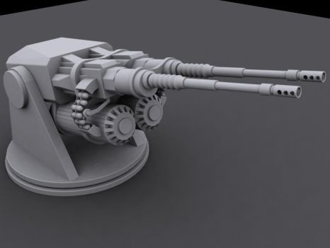 40mm Grenade Launcher WIP 1 by Frenotx
