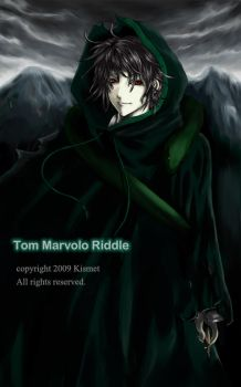 Tom Marvolo Riddle by kayukikismet