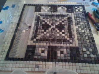 Designing a marble mosaic shower floor by virnagray