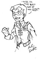 Young Jason Todd: First Day As Robin by RobinElyce