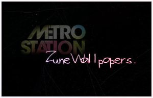 Metro Station Zune Wallpapers by radio-addicted
