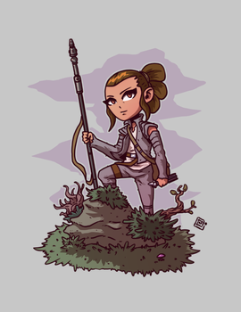 Rey by redeve