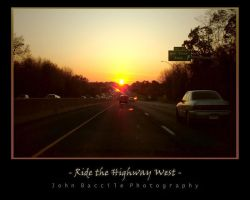Ride the Highway West by barefootphotography