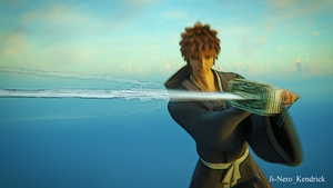 3D Anime : Bleach Ichigo Animation 1 Screenshot by Ji-Nero-Kendrick