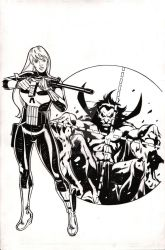 MJ is the Punisher by BroHawk