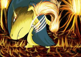 Typhlosion by Shight