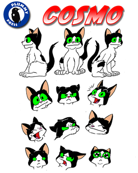 Cosmo Model Sheet by PlummyPress