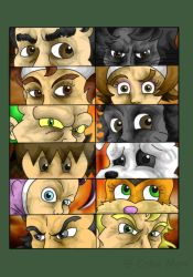 Eyes collage by CokanoMon