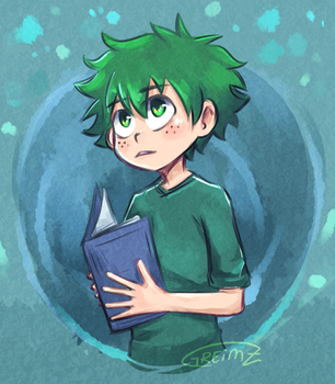 Does his best | BnHA by Greimz