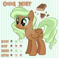 Cocoa Mint Color Guide by steffy-beff