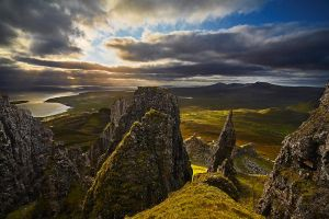 Isle Of Skye - The Quiraing - Sunrise by nicoam