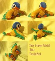 Shiny Archeops Pokedoll