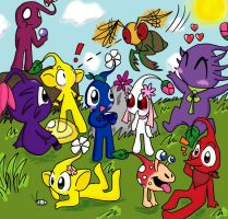 The Pikmin by Maplepeltthecat