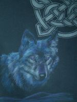 Celtic Wolf by Endivinity
