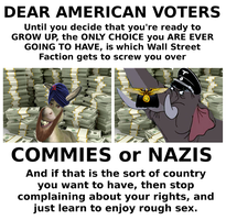Voting Choices: Commies or Nazis? by paradigm-shifting