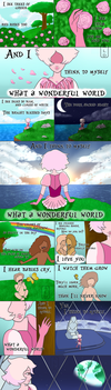 Pink Diamond: What a Wonderful World~ by Luvith-Drevis