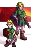 NYCC Print - 7 Years - Ocarina of Time by JoeHoganArt