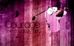 Courage, the cowardly dog by xanne-art