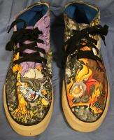 Raikou vs Entei Shoes